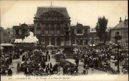 50 - CHERBOURG - Theatre - Marché - Cherbourg