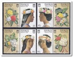 Tuvalu 1987, Postfris MNH, Flowers - Tuvalu