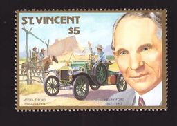 Voiture Automobile Timbre Neuf ** N° 1027 Henry Ford Model Modele T - Voitures