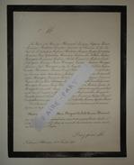 FAIRE-PART DECES 1878 RIGAUD De L'ISLE BLANCARD PERIER BONTOUX ARVET Lisle Crest Allex Drôme Généalogie B) - Décès