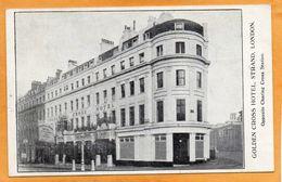 Golden Cross Hotel London 1910 Postcard - Otros