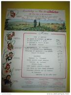 Menu/Corbiéres/ Gruissan Plage / Narbonne/ /1966    MENU58bis - Menus