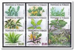 Trinidad & Tobago 2005, Postfris MNH, Plants ( Not Complete Set ) - Trinidad En Tobago (1962-...)