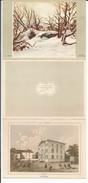 Vevey, Lithographie Klausfelder, Calendrier 1948 (1948) Format 3x 10x14 - Publicités