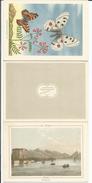 Vevey, Lithographie Klausfelder, Calendrier 1948 (1947) Format 3x 10x14 - Publicités
