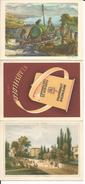 Vevey, Lithographie Klausfelder, Calendrier 1948 (1955) Format 3x 10x14 - Publicités
