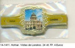 Vitolas Hofnar. Vistas De Londres . FP (ref. 14-1411) - Vitolas (Anillas De Puros)