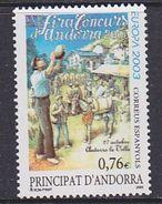 Europa Cept 2003 Andorra Sp. 1v ** Mnh (36328c) @  BELOW Face - Europa-CEPT