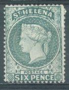 ST HELENA - 1871 - NO GUM OR NO CANCELLATION - PERF 14 -  NO WATERMARK !!! - Lot 15682  - REPRINT !!! NORMALLY 550 EUR - Sainte-Hélène