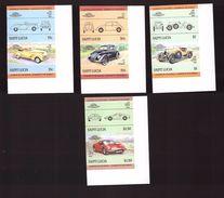 Voiture Automobile Série Complète Neuve ** Non Dentelé N° 728 à 735 Sainte Lucie Hudson Kissel Ferrari - Voitures