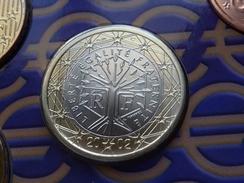 1  EURO FRANCE 2002 BU FDC SCELLE SOUS VIDE  (  2 Photos  ) - France