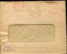 22971 Island  Red Meter/freistempel/ema/ Reykiavik 1952 - Vignettes D'affranchissement (Frama)