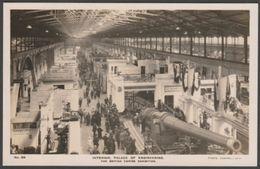 Palace Of Engineering, British Empire Exhibition, 1925 - Fleetway Press RP Postcard - Exhibitions