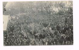 Défilé De La Victoire à Bruxelles.22 Novembre 1918.Entrée Du Roi Albert Et Des Troupes Alliées.Artillerie Belge. - Guerre 1914-18