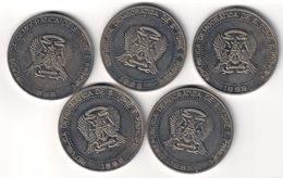 Saint Thomas & Prince 2000 Dobras 1998 (Price For 1 Coin) - Sao Tomé E Principe