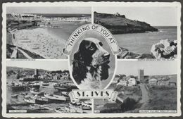 Multiview - Thinking Of You At St Ives, Cornwall, C.1950s - Postcard - St.Ives