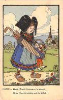 Illustrateur - Hansi - Gretel D'après L'estampe Et La Poupée - Hansi