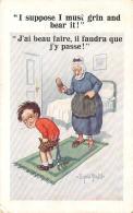 Illustrateur - Donald Mc Gill - I Suppose I Mutst Grin And Bear It ! (Enfant, Humour) (fessée) - Mc Gill, Donald