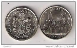 Serbia 10 Dinara  2012. BU / UNC KM#57 - Serbie