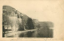 Dép 01 - Chateaux - La Cluse - Château Du Mont - Le Mont Et Lac Nantua - état - France