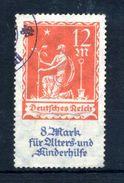 1922 WEIMAR N.238 USATO - Allemagne