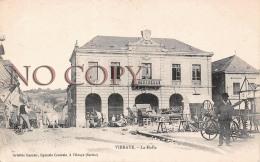 72 - Vibraye - La Halle - Mairie - Vibraye