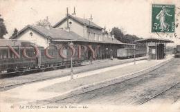 72 - La Flèche - Intérieur De La Gare - La Fleche