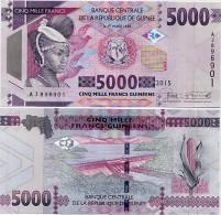 GUINEA      5000 Francs      P-48      2015      UNC - Guinea