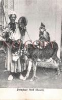 Egypte Egypt - Dompteur Arab Manoli - âne Singe - Egypte