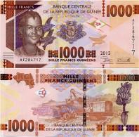 GUINEA      1000 Francs      P-New      2015      UNC - Guinea