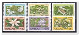 Tokelau 1987, Postfris MNH, Flowers - Tokelau