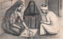 Egypte Egypt - Jeune Fille Arabe Disant La Bonne Aventure - Egypte