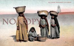 Egypte Egypt - Fellahine Ramassant Le Fumier - Egypte