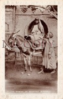 Egypte Egypt - Native Woman On Egyptian Donkey - âne Femme Arabe - Egypte