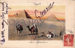 Egypte Egypt - Aux Pyramides - Egypte