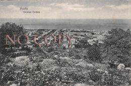 Egypte Egypt - Haiffa - German Colony - Colonie Allemande - Egypte