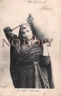 Egypte Egypt - Native Girl 1918 - Jeune Fille Arabe - Egypt