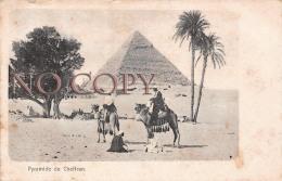 Egypte Egypt - Pyramide De Cheffren - Egypte