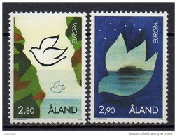 Aland - Europa - 1995 - Yvert N° 100 & 101 ** - Aland