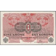 TWN - AUSTRIA 49 - 1 Krone 1.12.1916 (1919) Various Series AU/UNC - Autriche