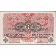 TWN - AUSTRIA 49 - 1 Krone 1.12.1916 (1919) Various Series AU/UNC - Austria