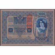 TWN - AUSTRIA 59 - 1.000 Kronen 1919 Various Series AU/UNC - Austria