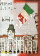 """ITALIA - 2004  FOLDER """" Trieste All'Italia """" - 6. 1946-.. Repubblica"""