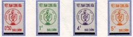 Viet Nam Du Sud ** N° 218 à 221 - Défense De La Patrie - - Vietnam