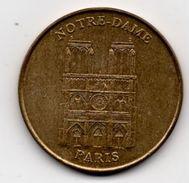 Paris - 75 : Notre Dame (Monnaie De Paris, Non Datée) - Monnaie De Paris