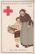 Croix Rouge De La Jeunesse - Illustration De Maggie Salzedo - Aide Ton Prochain - Croix-Rouge