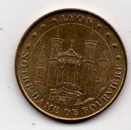Lyon - 69 : Notre Dame De Fourvière (Monnaie De Paris, 2004) - Monnaie De Paris