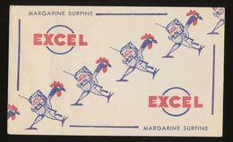 Buvard - EXCEL - MARGARINE SURFINE - Blotters