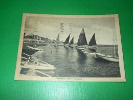 Cartolina Cattolica - Vele E Spiaggia 1948 - Rimini