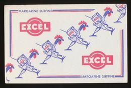 Buvard - EXCEL - MARGARINE SURFINE - Buvards, Protège-cahiers Illustrés